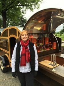 Me at the Stitzel-Weller Distillery.
