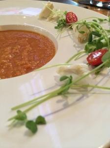 Seviche's wonderful gazpacho.